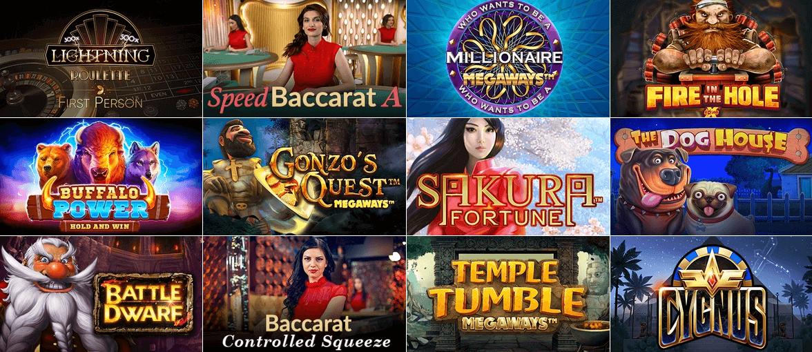 カジノエックス(Casino-X) ゲーム